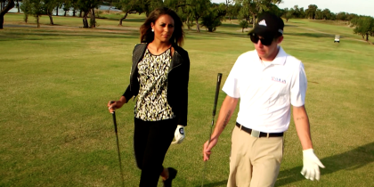 Wounded Warrior Turns to Golf for Healing