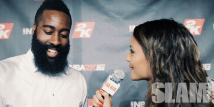 1-on-1 With James Harden, Anthony Davis on NBA 2K16