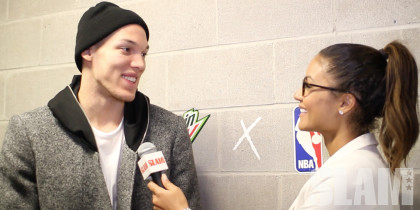 Aaron Gordon, Zach LaVine Discuss Last Night's Dunk Contest