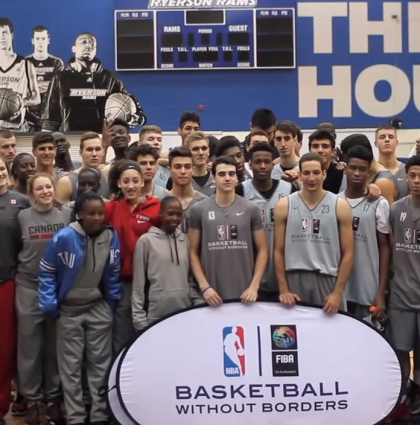 Basketball Without Borders Global Camp at All-Star Weekend 2016